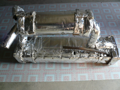Aluminum Foil Fabric For Insulation Cover