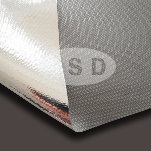 Silicone And AL Coated Fiberglass Fabric